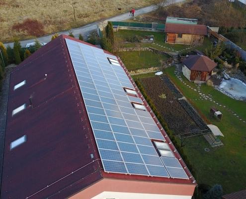 Isokor - čistenie fotovoltaických a solárnych panelov