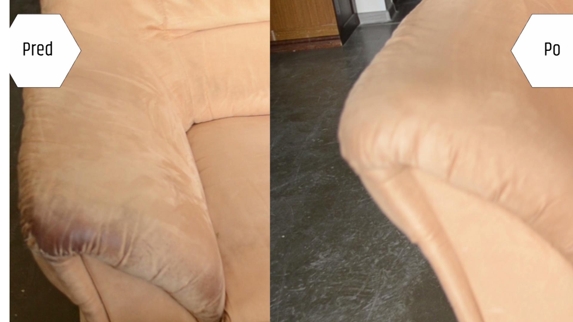 Isokor - čistenie sedačky