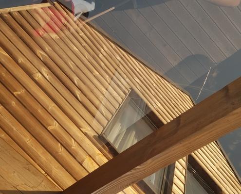 Isokor - nanoimpregnácia drevenej chatky