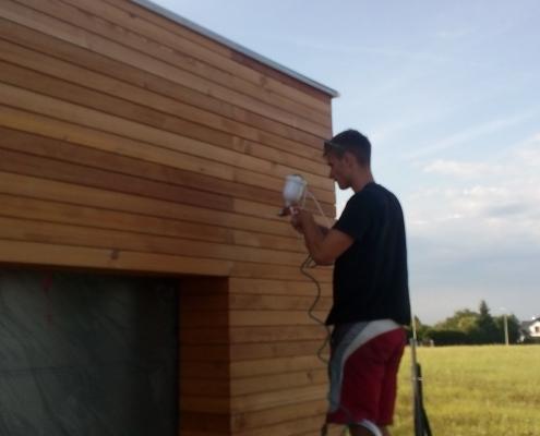 Isokor - Drevená fasáda Bielsko Biala